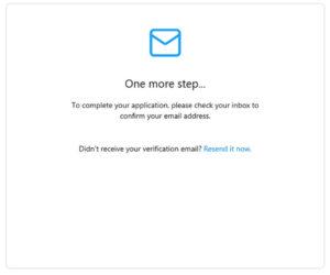 メール送信の画面