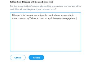 Tell us how this app will be used
